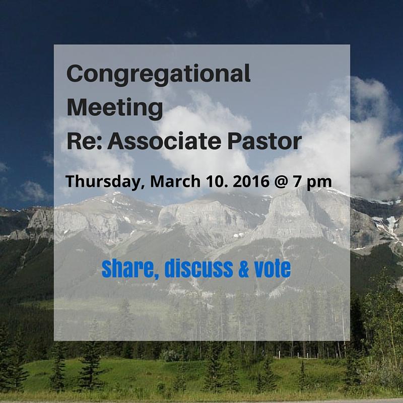 Congregational Meeting (2)