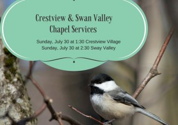 Chapel Services July